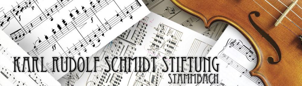 Karl Rudolf Schmidt Stiftung